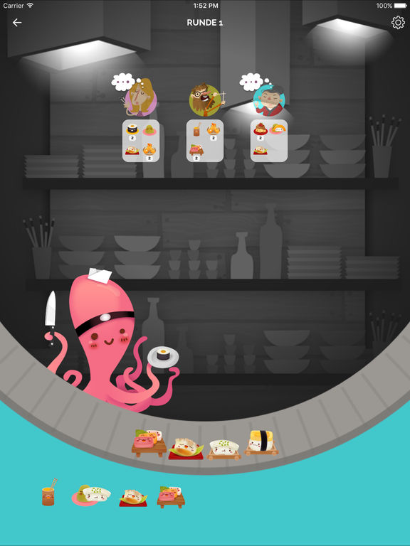 Screenshot 2 Sushi Go!