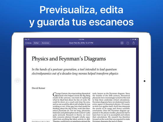 Scanner Pro 7 - Escáner PDF de documentos con OCR Screenshot