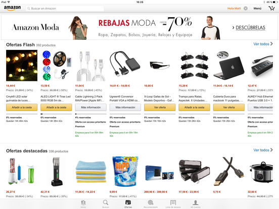 Amazon Móvil Screenshot