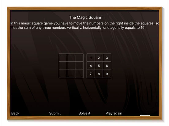 The Magic Square - Time to Play Screenshots
