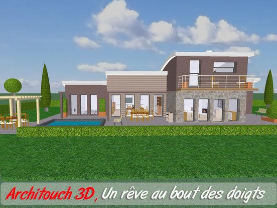 architouch 3d design de plans d 39 architecture cad cao dans l app store. Black Bedroom Furniture Sets. Home Design Ideas