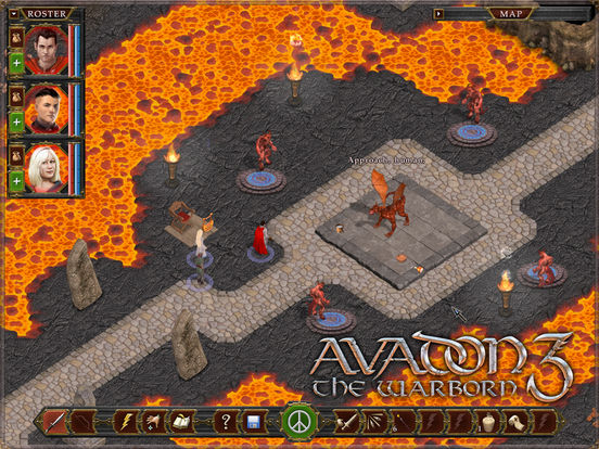 Avadon 3: The Warborn HD iOS Spiel