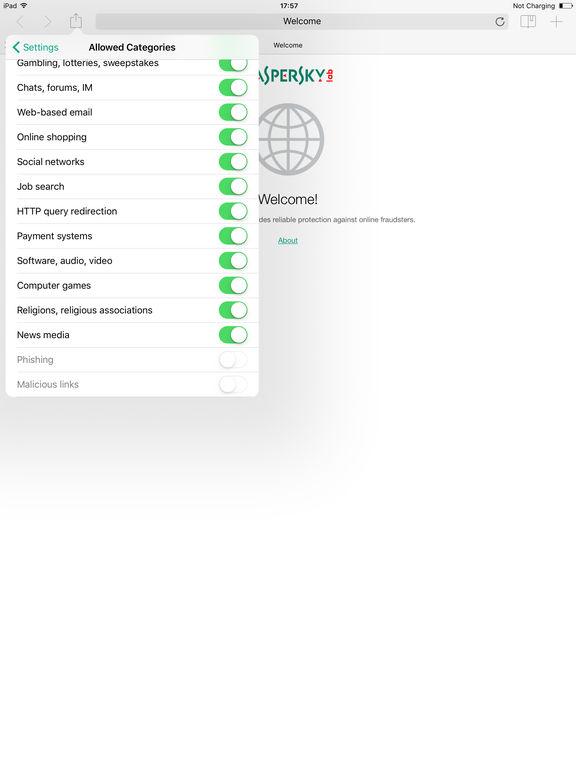 Kaspersky Safe Browser: Fast & Free Screenshot