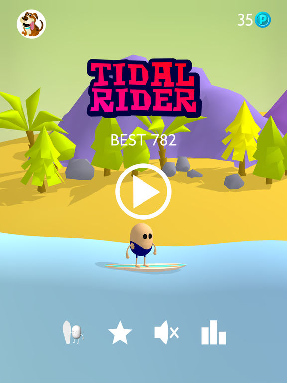 Screenshot 1 Tidal Rider