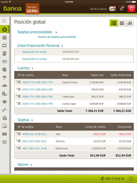 Bankia en el app store for Bankia oficina movil