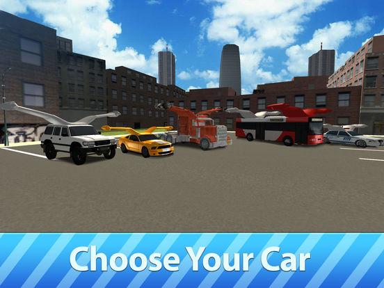 Flying Car Driver Simulator 3D Full Screenshots