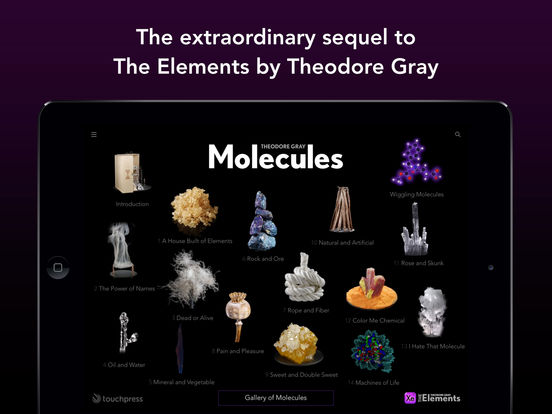 Molecules by Theodore Gray Screenshot