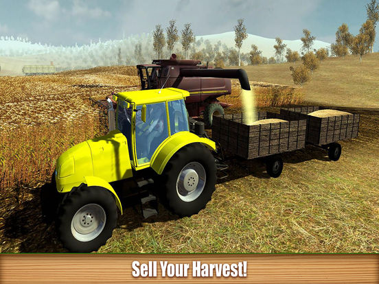 AGRO FARMING TRACTOR SIMULATOR 20'16 Screenshots