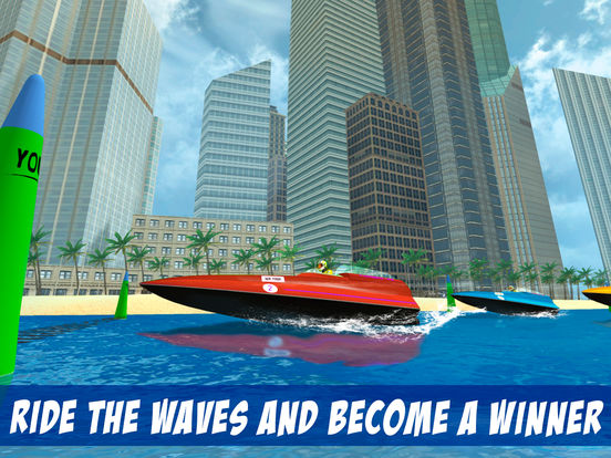 Extreme Boat Racing Fever 3D Full Screenshots