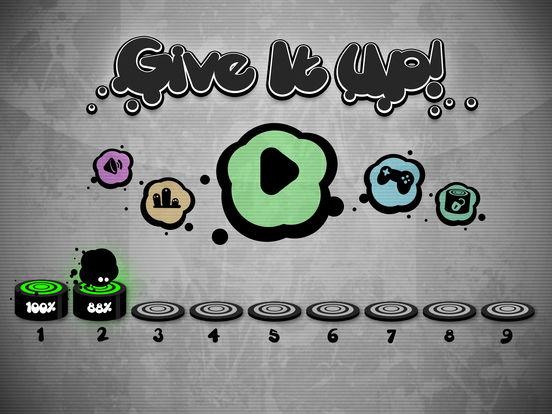 Give it up app voor iphone ipad en ipod touch appwereld