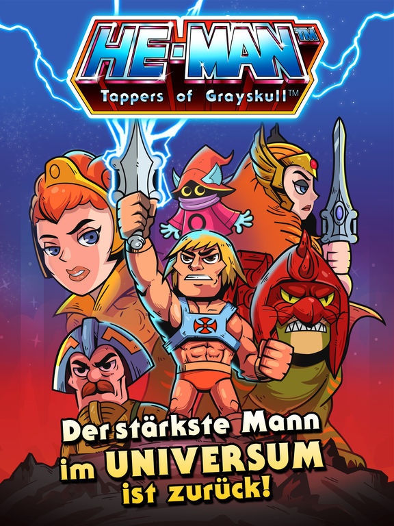 He-Man™ Tappers of Grayskull™ iOS Screenshots
