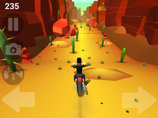 Faily Rider iOS Screenshots