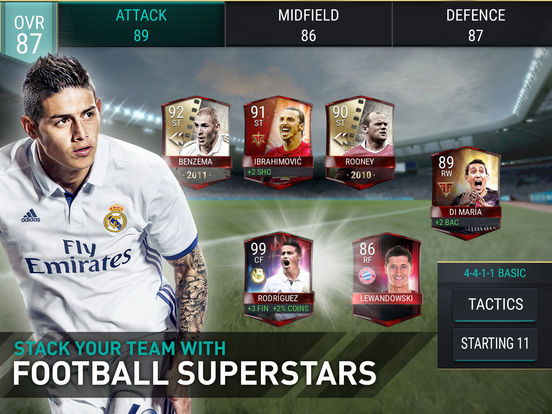 FIFA Mobile Football Screenshots