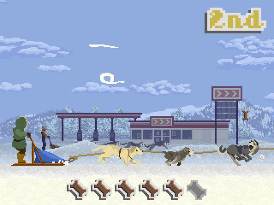 Dog Sled Saga iOS Screenshots