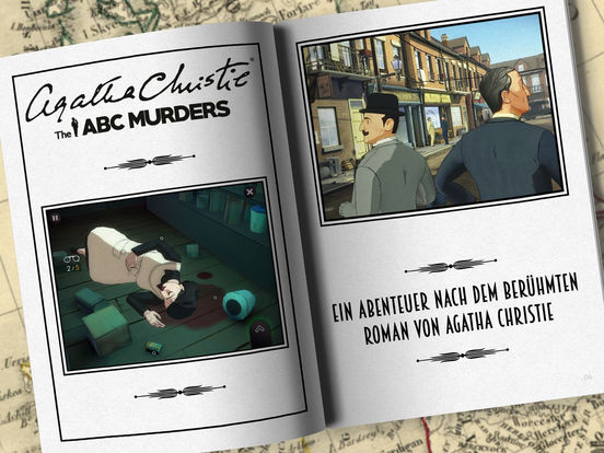 Agatha Christie - The ABC Murders (FULL) iOS Screenshots