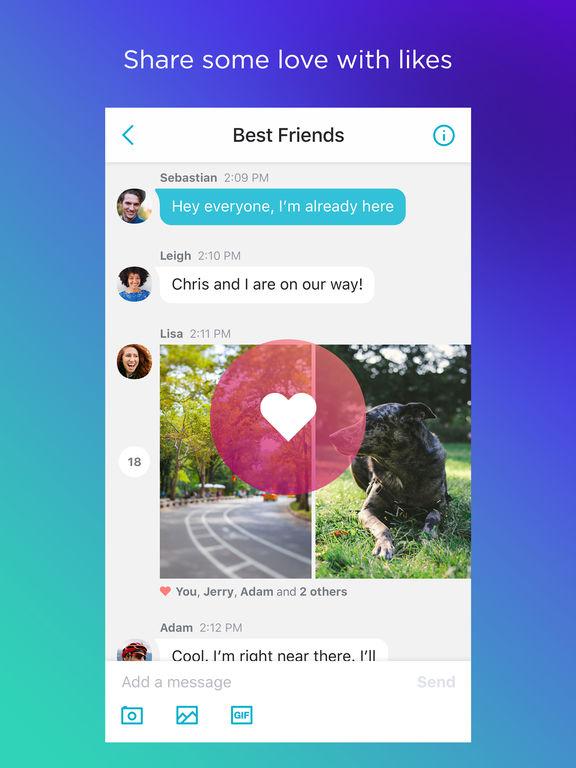 Yahoo Messenger – Chatten und sofort teilen Screenshot