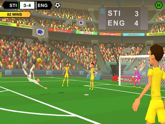 Stick Soccer 2 iOS Screenshots