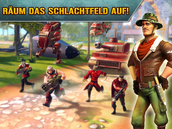 Blitz Brigade - Multiplayer shooting action! Screenshot