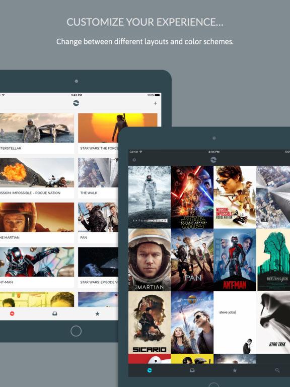 iShows Movies - Movie Tracker powered by Trakt.tv Screenshot