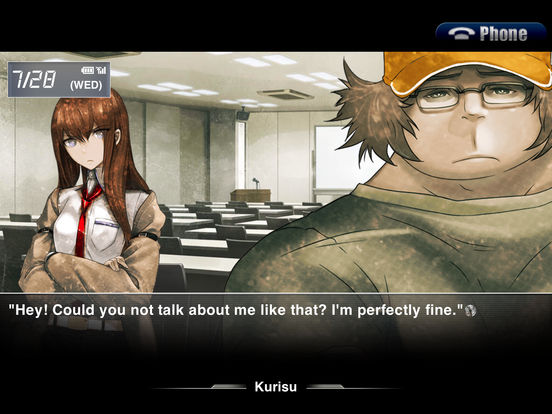 STEINS;GATE HD EN Screenshot