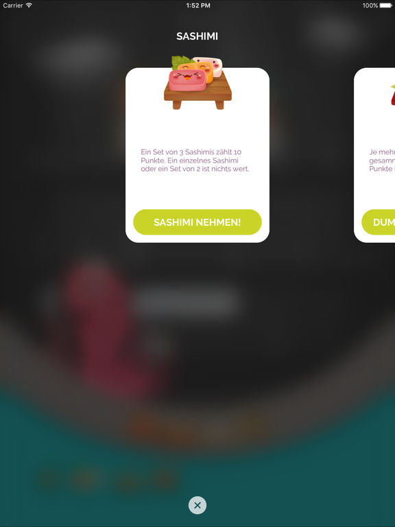 Screenshot 3 Sushi Go!