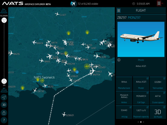 UK Air Traffic Control Provider launches Flight Tracking App Image