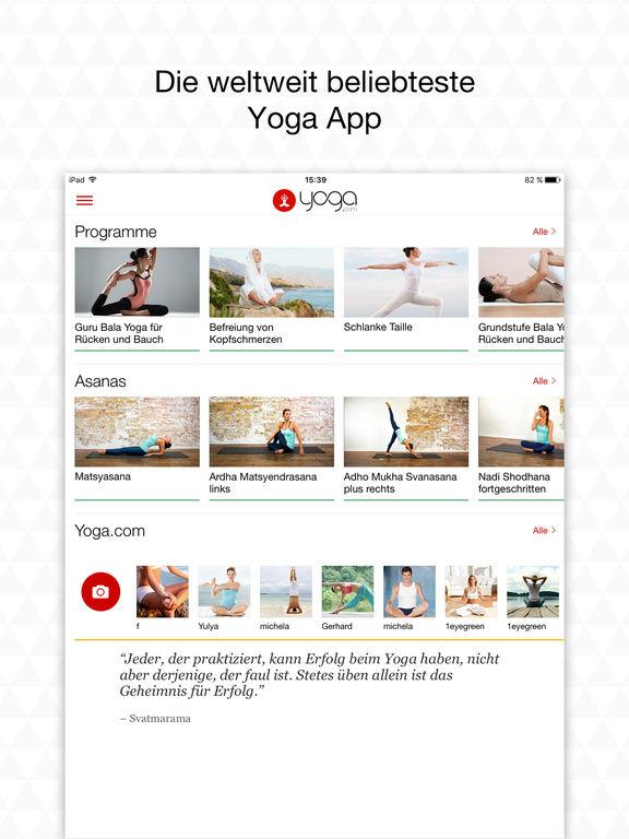 "Yoga.com Studio: 300 Posen und Video Klassen"" im App Store"