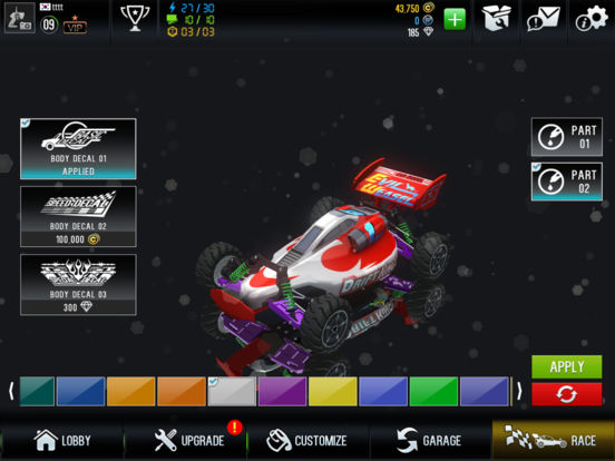 Re-Volt3 : Resurrection iOS Screenshots