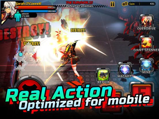 Smashing The Battle iOS Screenshots
