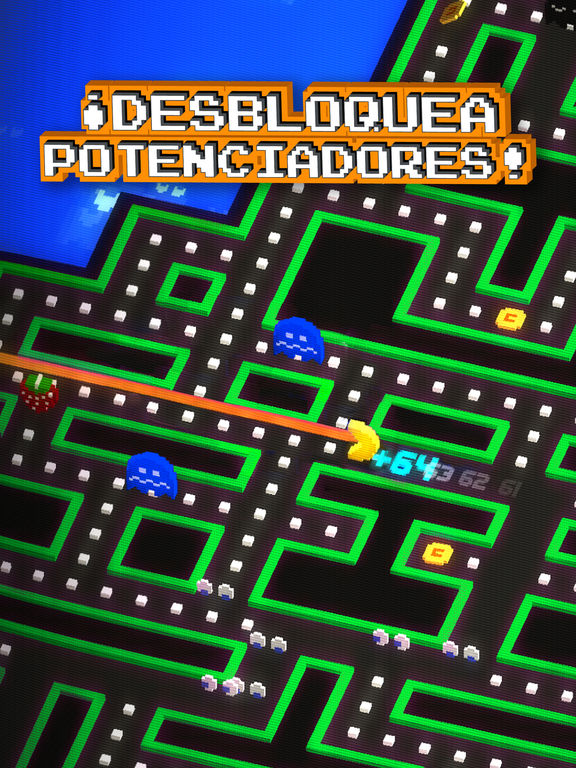 PAC-MAN 256 - Laberinto sin fin Screenshot