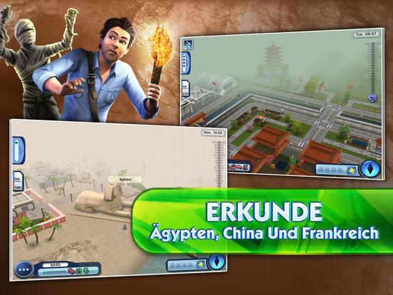 Die Sims 3 Reiseabenteuer iOS Screenshots