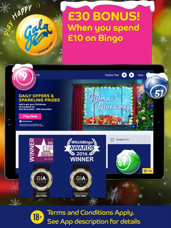 The bingo app from Gala is one of the top rated bingo apps on the app store. New customer gala bingo offer Head to adalatblog.ml to see all of the most up to date offers and bonuses/5(7).
