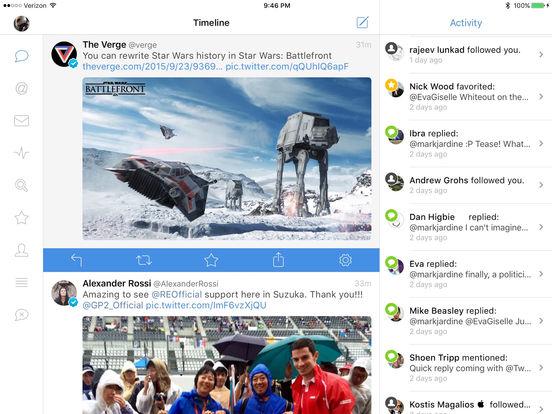 Tweetbot 4 for Twitter Screenshot