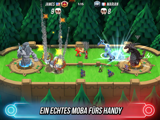 Titan Brawl iOS Screenshots