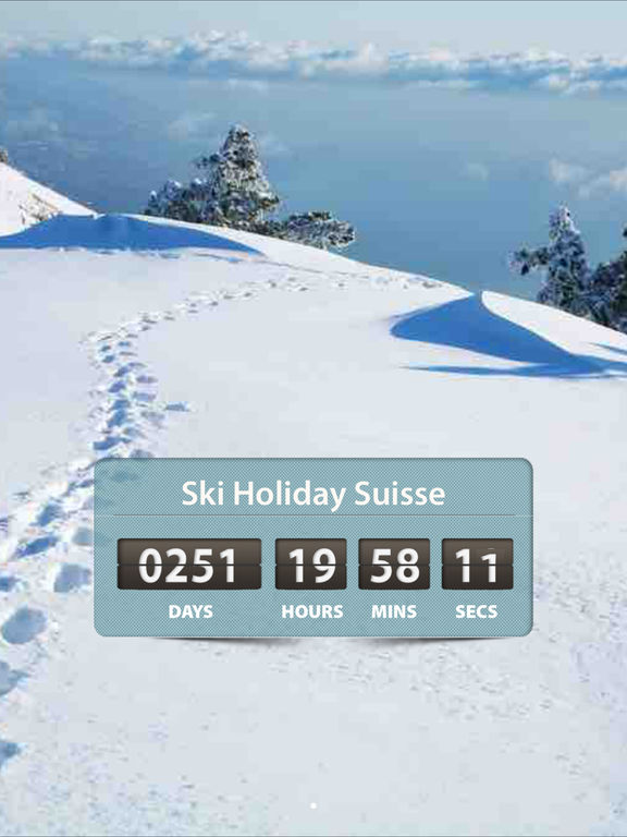 Holiday Amp Vacation Countdown Timer Event Widget App Voor Iphone Ipad En Ipod Touch Appwereld