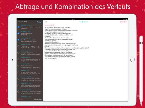 TextGrabber: QR, OCR text erkennen und übersetzen Screenshot