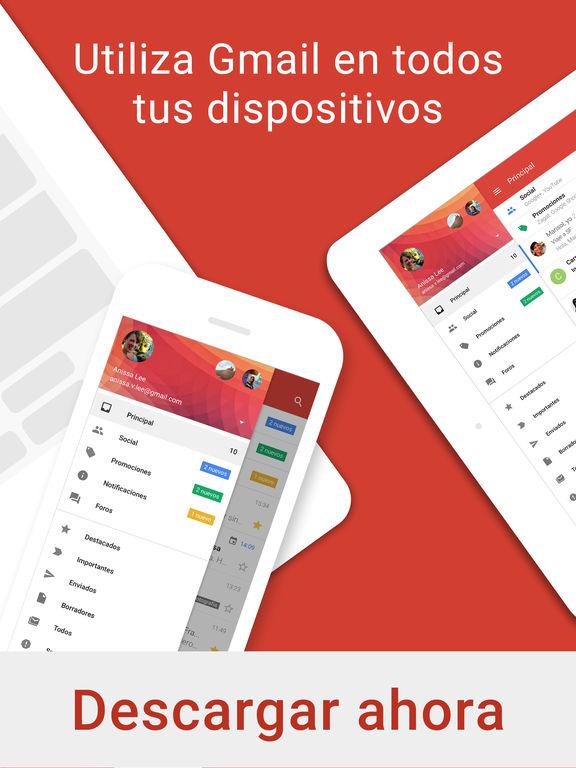 Gmail: el correo electrónico de Google Screenshot