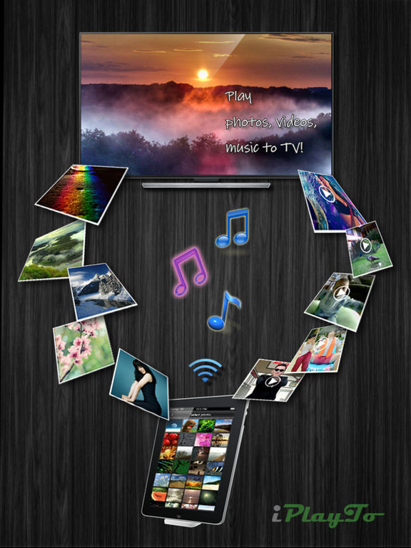 iPlayTo - Play photos, videos and music to TV Screenshot