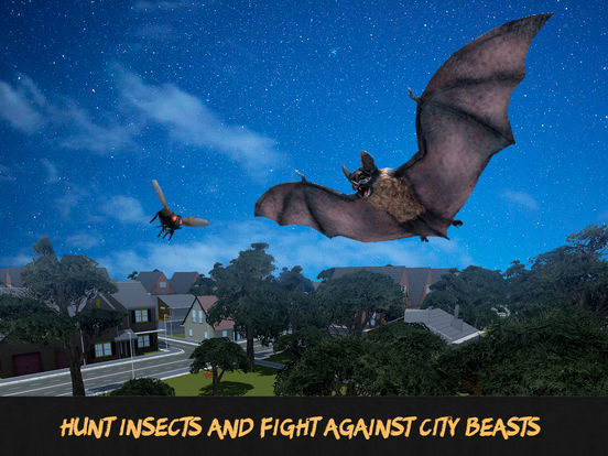 Flying Bat Survival Simulator 3D Full Screenshots