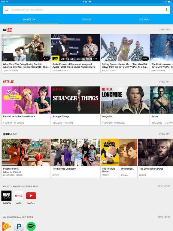 Google Cast Screenshot