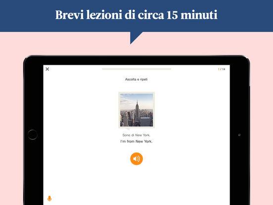 Babbel – Imparare inglese, francese e altre lingue Screenshot