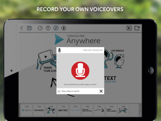 VideoScribe Anywhere Screenshot