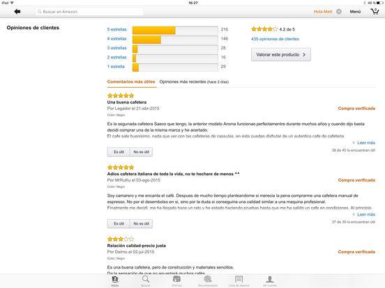 Amazon Móvil Screenshot