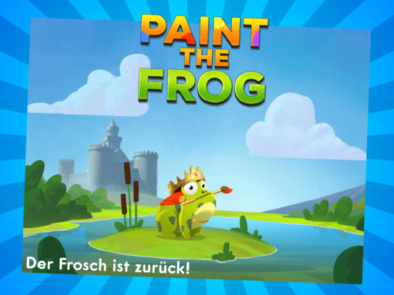 Paint the Frog iOS Screenshots