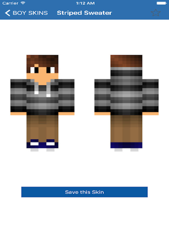 Lastest BOY SKINS For Minecraft Pe By Aaron Kwok Shaz - Skin para minecraft pe