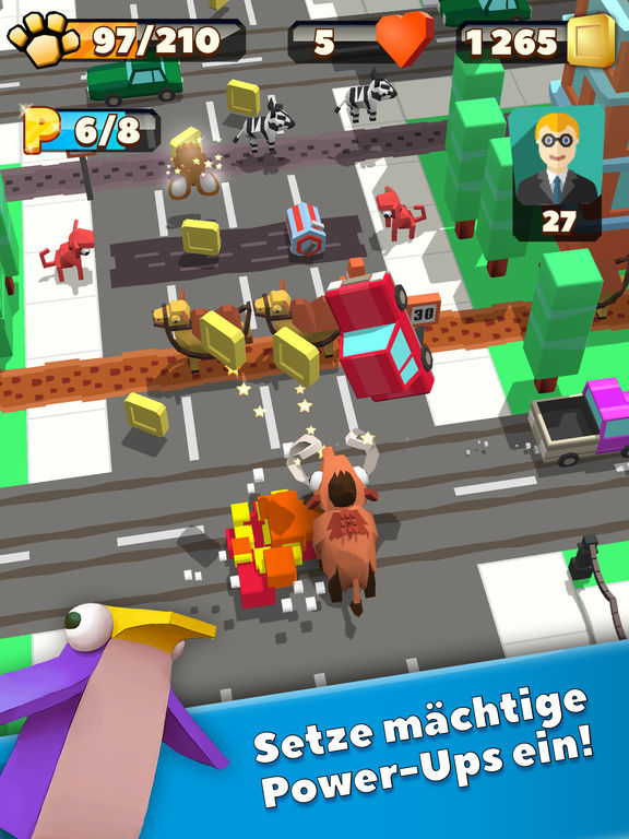 Wild City Rush - Urban Jungle Adventure iPhone iPad