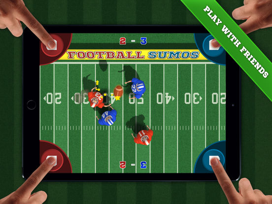 Football Sumos - Multiplayer Party Game! iOS Screenshots