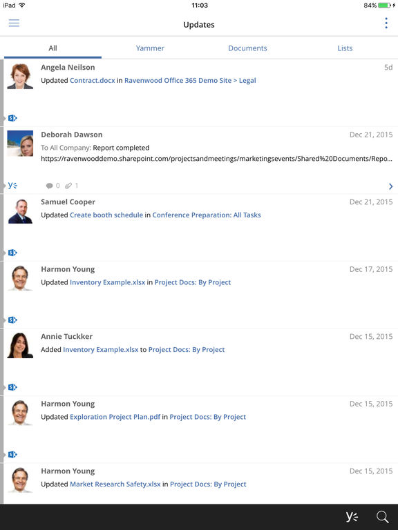 harmon.ie Lite - for Office 365 and SharePoint Screenshot