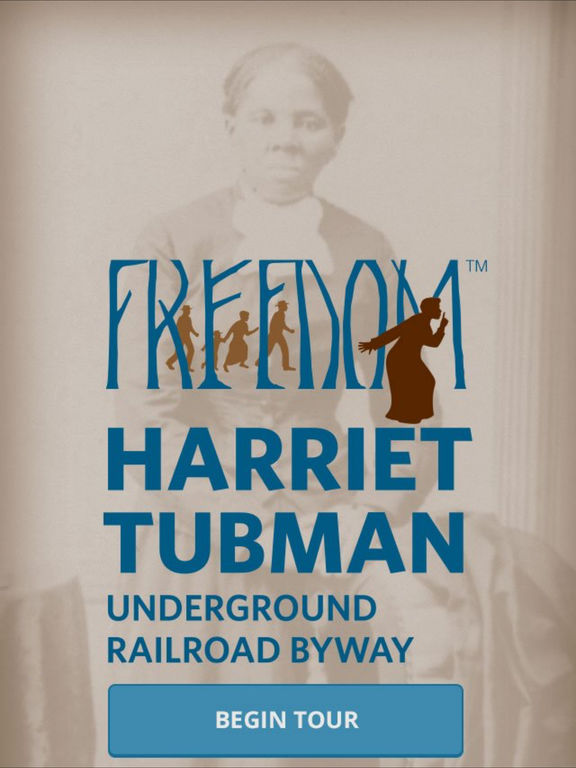 Harriet Tubman Underground Railroad Byway Screenshot