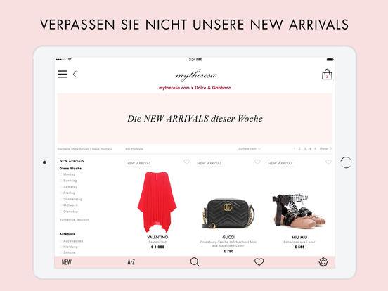 mytheresa.com shopping app Screenshot